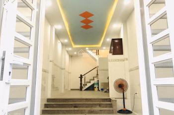 Bán nhà nở Hậu, 4 tầng ở đường Dương Bá Trạc, phường 1, quận 8, TP. HCM. Giá 4,9 tỷ