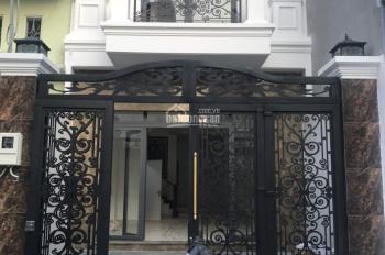 Nhà biệt thự bán cổ điển tuyệt đẹp 5x20m, 4 tấm ĐS 11, Bình Hưng Hòa, BT giá 8 tỷ TL