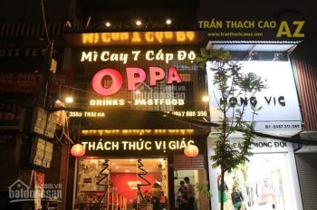 Cho thuê nhà mặt phố Thái Hà 80m2 x 3 tầng, MT 6m, thông sàn LH 0362452460