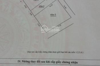 Bán đất: Thôn Đoài - xã Nam Hồng - Huyện Đông Anh - TP Hà Nội. Diện tích: 65m2, rộng: 4m