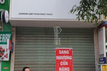 CC - Cho thuê cửa hàng mặt phố Phạm Ngọc Thạch - HN