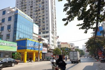 Bán đất mặt phố Phùng Hưng 550m2, MT 16m, 74 tỷ, xây bệnh viện, vp đỉnh