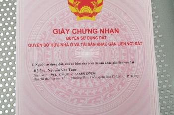 Bán đất thổ cư SĐCC Tu Hoàng - Q. Nam Từ Liêm, 35m2 x 3.6m MT, thuận tiện giá rẻ. LH 0764779999