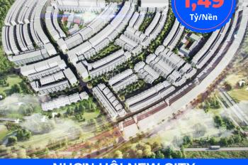 Cần bán nền vị trí đẹp PK4 và PK2 Nhơn Hội New City giá cực tốt chỉ 1.4 tỷ/căn. LH 085 382 9999