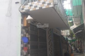 Nhà hẻm 4m Âu Cơ, Tân Phú, 1 trệt, 1 lầu, ban công, cách 100m ra MT, giá 1tỷ7 TL