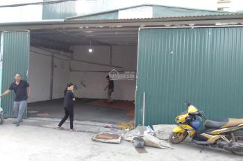 Cho thuê kho đường Thịnh Liệt, Hoàng Mai, DT 120m2, giá 11tr/th, LH 0963376379