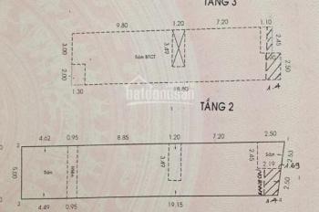 Bán gấp nhà MT Võ Công Tồn, Tân Quý, Q. Tân Phú, DT: 5 x 25m, 1 trệt 2 lầu đúc. Giá 12.5 tỷ