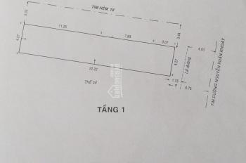 Góc 2 MTKD Nguyễn Xuân Khoát, Tân Sơn Nhì, Tân Phú DT 4,27x22,2m nhà cấp 4. Giá 12tỷ, LH 0901278259
