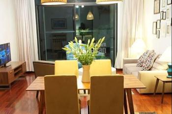 Cho thuê căn hộ Vincom Bà Triệu, tầng 16, 132m2, 2 ngủ, đầy đủ đồ, ảnh thực tế. LHTT: 0906206518