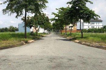 Thanh lý lô đất KDC 13A Hồng Quang, Bình Chánh, sổ đỏ, DT: 100m2, giá: 17tr/m2, 0784194524