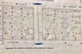 Bán liền kề LK6 - khu đô thị cấp 1 Cienco5 Xã Tiền Phong, Mê Linh. LH: 0941446931