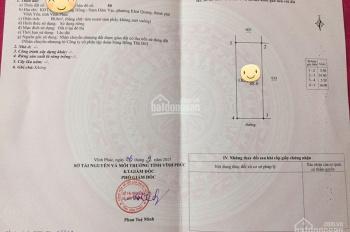 Bán đất KĐT Nam Đầm Vạc, Khai Quang, Vĩnh Yên, Vĩnh Phúc. Diện tích: 88m2, giá: 1,65 tỷ