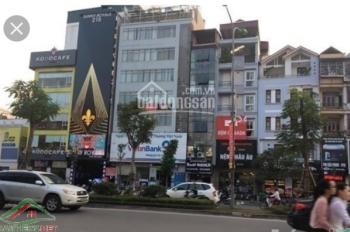 Cho thuê mặt phố Hoàng Quốc Việt 150m2 x 4 tầng mt 8.5m đoạn sầm uất nhất kinh doanh cực đẹp