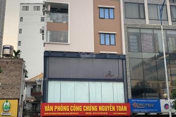 Bán nhà 7 tầng lô góc diện tích 110m2 mặt tiền 9m, mặt phố Nguyễn Văn Huyên KD cực tốt