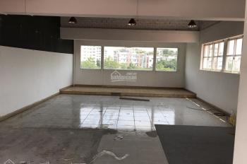 Cho thuê nhà phố Mỹ Hoàng mặt tiền Nguyễn Văn Linh DT 6x18m Trệt lửng 3 lầu giá 50 triệu/tháng