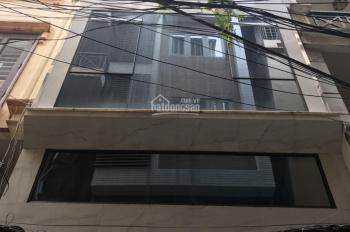 Bán tòa nhà Thái Hà, 52m2, MT 5.2m, phân lô, vỉa hè. Giá 16,6 tỷ, 0911029955