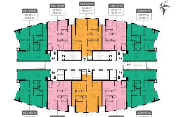 Chú Thái - Bán gấp chung cư 360 Giải Phóng tầng 1608 - IP3, DT 90,6m2, giá 2,7tỷ. LH: O933269345