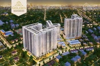 Tôi cần bán gấp căn hộ Golden Mansion Phổ Quang dt 75m2, 2PN, lầu 6, full nội thất giá 4 tỷ