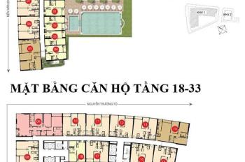 Chính chủ bán lại căn hộ Sài Gòn Royal 73.8m2, 2PN, lầu 27, căn số 17, view sông, giá 5.5 tỷ