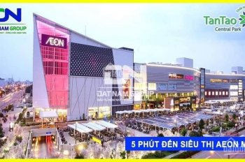 Mở bán giai đoạn F1 - 48 nền đất khu đô thị Tân Tạo, vị trí siêu vip