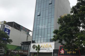 Bán gấp nhà mặt phố Nguyễn Khánh Toàn hơn 40 tỷ 100m2, xây 6 tầng 2 mặt thoáng đang cho thuê cao