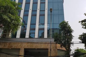 Cho thuê nhà mặt phố Trung Hòa, Trung Kính, Cầu Giấy. 140m2 * 6T, MT 6mm, có thang máy 80 tr/th