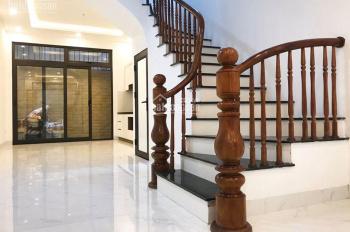 Bán nhà mới đẹp 50m2, 5t, mặt tiền 3.8m, 5.4tỷ ngõ ô tô tránh 279 Đội Cấn thông 173 Hoàng Hoa Thám