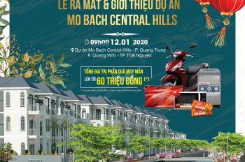 Chính thức mở bán đất TP Thái Nguyên - giai đoạn 1 đầu tư sinh lợi nhuận - 0936436588