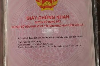 Đất thổ cư 2 mặt tiền gần bệnh viện Xuyên Á giá rẻ. LH Sang - 0916648448