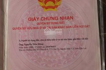 Đất thổ cư 2 mặt tiền gần bệnh viện Xuyên Á Gò Dầu, LH Sang: 0916648448