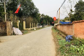 Bán đất 40m mặt đường nhựa lớn lối đi vào du lịch Ao Vua sổ đỏ chính chủ và đã xây tường bao quanh