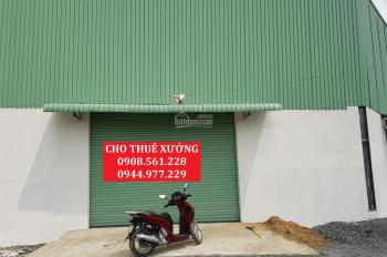 Cho thuê 4 nhà xưởng nằm ngay Ngã Tư Ga, quận 12, 400m2, 500m2, 1200m2, 2200m2, LH: 0908.561.228