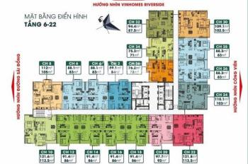 Chung cư cao cấp cạnh Vinhomes Riverside giá chỉ từ 24tr/m2 - HT Lãi suất 0% trong 18 tháng - CK 8%