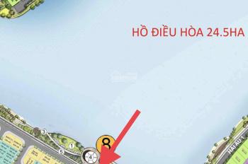 Cần bán căn đơn lập mặt hồ khu San Hô kí mới với CDT không chênh