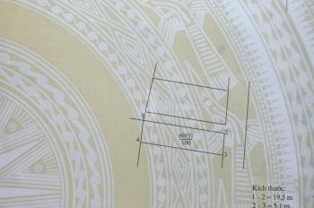 Bán đất Trâu Quỳ, Gia Lâm 40m2, mặt tiền 5.1m vuông vắn giá 36tr/m2, 0902883342