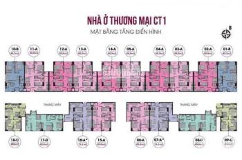 BQT chung cư 789 Ngoại Giao Đoàn thông báo đến khách hàng tìm mua nhà tòa CT1 và CT2
