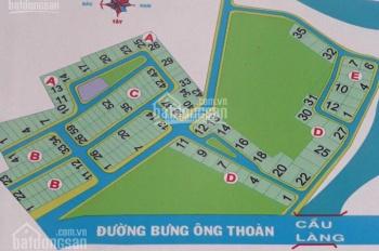Bán đất nền quận 9 đường Bưng Ông Thoàn dự án Thời Báo Kinh Tế lô góc, LH 0909.00.05.01