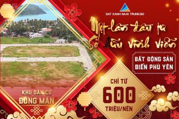568tr/nền - Chính chủ bán gấp 2 lô đất nền ven biển Phú Yên, Vịnh Xuân Đài, Sông Cầu - 0943.2888.79
