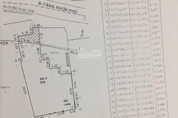 Bán nhà mặt tiền đường Tăng Nhơn Phú, phường Phước Long B, DT 442.6m2, giá 28 tỷ, 0988320837