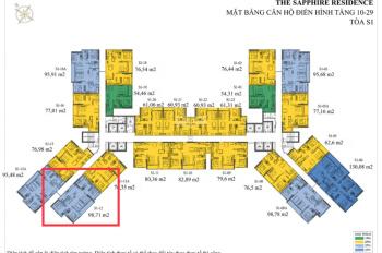 Cần tiền bán gấp căn 12 full nội thất, dự án chung cư Doji, Bến Đoan, Hạ Long. 4,4 tỷ,  0981950096