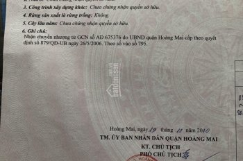 Chính chủ cần bán nhà 32m2 Phường Kim Giang, quận Hoàng Mai, ô tô vào tận cửa
