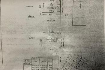 Cần bán gấp căn nhà 611/57G Điên Biên Phủ, P1, Q3