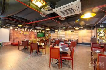 Mặt bằng nhà hàng Ngụy Như Kon Tum, chân đế chung cư, cực đông văn phòng, 400m2, 66 triệu/th