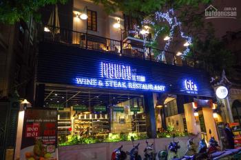 Cho thuê nhà mặt phố Hoàng Cầu 220m2, mặt tiền 12m riêng biệt. LH: O946850055