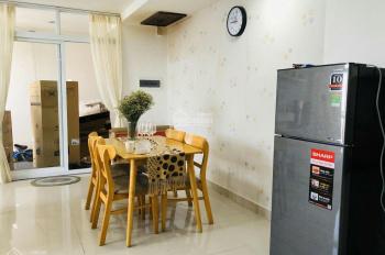Cho thuê chung cư Conic Sky Residence 107m2, 3PN đủ nội thất, giá 10 triệu, LH 0989333462