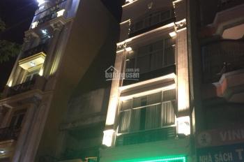 Cho thuê gấp MT Nguyễn Công Trứ Q1 DT 4.5x20m 5 tầng vị trí đẹp kinh doanh được coffee, VP 110tr/th