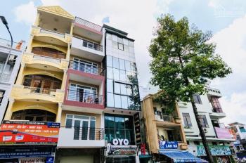 Tôi cần cho thuê nhà MT 393 Nguyễn Công Trứ, P. Cầu Ông Lãnh Q1, 4.5x20m, 6 lầu 450m2, giá 120tr/th