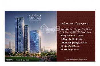 Hưng Thịnh mở bán căn hộ 4 mặt tiền đường lớn view biển TP Quy Nhơn, giá từ CĐT. LH 0969481696