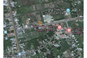 Bán đất 3 mặt tiền, Hàm Nghi, TT. Cam Đức, Cam Lâm 536m2