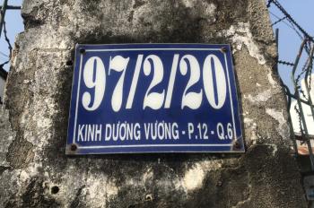 Chính chủ cần cho thuê gấp kho xưởng tại 97/2/20 đường Kinh Dương Vương, Q6, xe tải quay đầu, 230m2